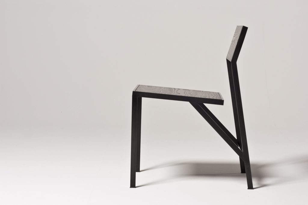 NOIR Dining Chair Side