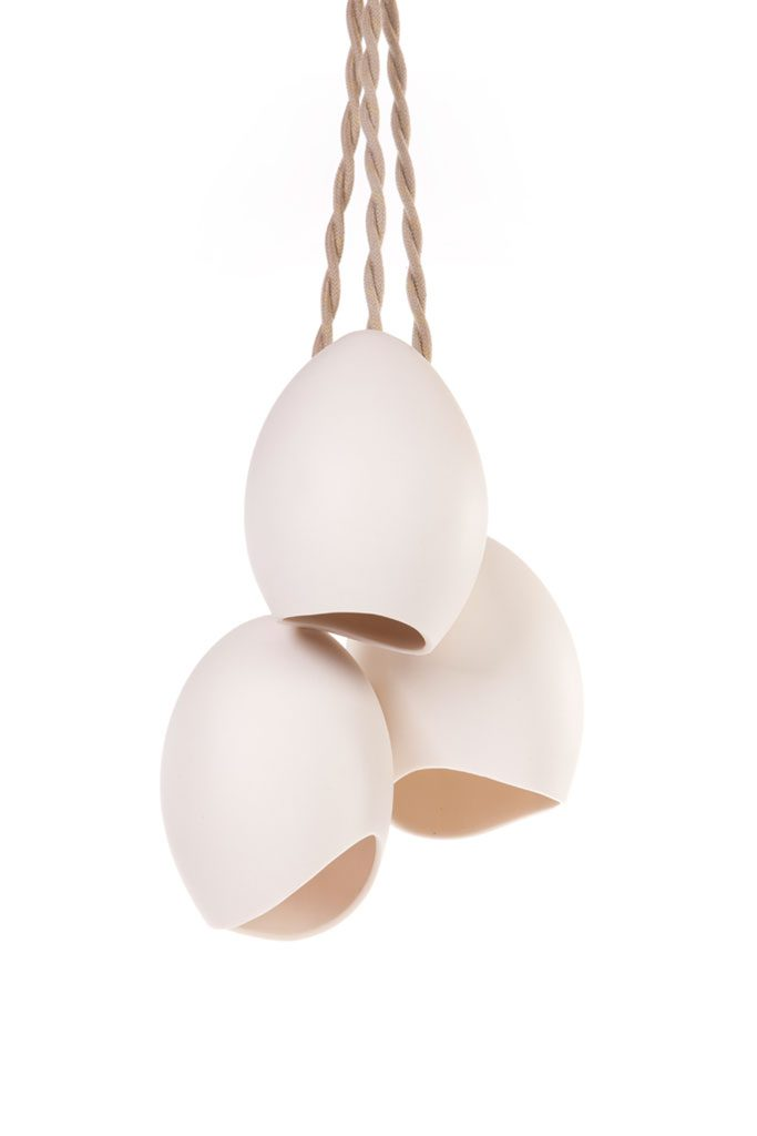 porcelain cluster pendant